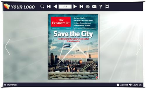 给电子杂志设置背景图片-修改背景