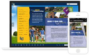 电子杂志制作软件哪个好-《Lakeland College Campus Life》校园生活电子画册,电子相册
