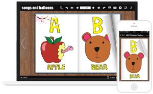 电子杂志制作软件哪个好-《ABC Children Textbook》ABC儿童音频教材,配音教材