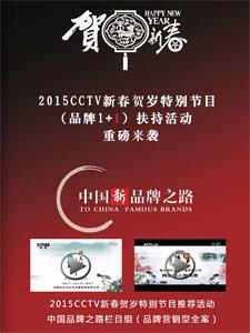 《中国新品牌之路(2015CCTV新春贺岁特别节目)》电子商刊