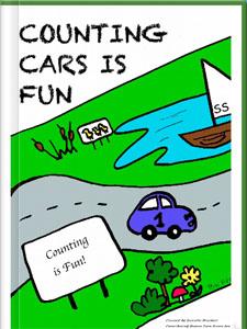 《counting cars》儿童算术电子书籍电子读物 - 翻页电子书制作软件