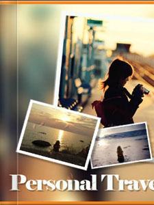 《旅游相册》电子相册 - 翻页电子书制作软件