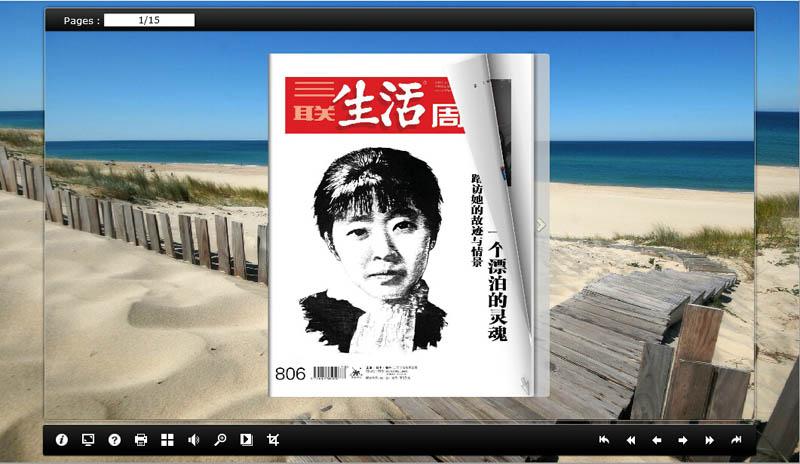 三联生活周刊,电子期刊杂志制作软件